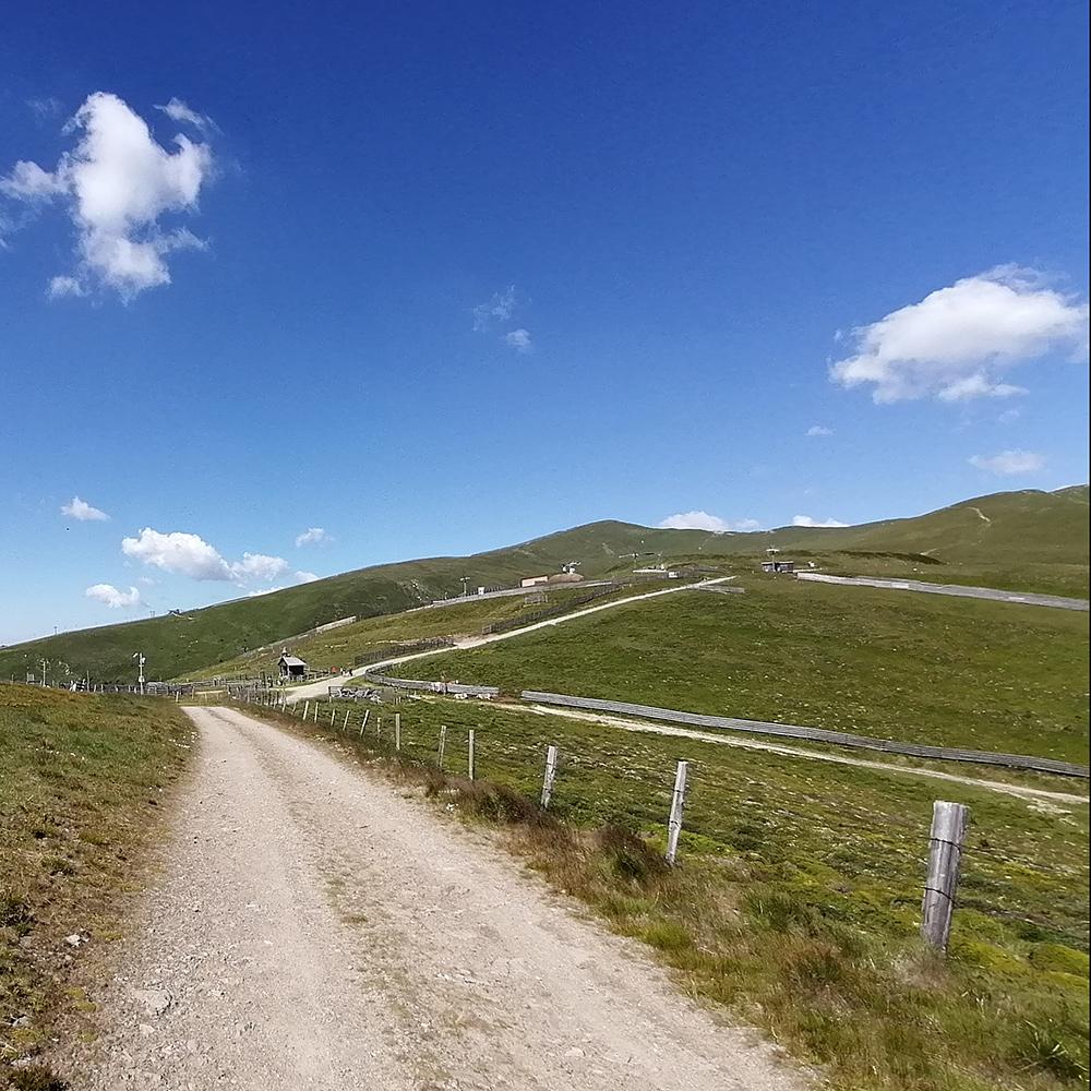 Lachtal Berge Straße